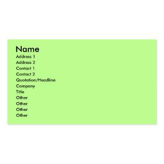 Easter - JackRat - Webb Business Card Template