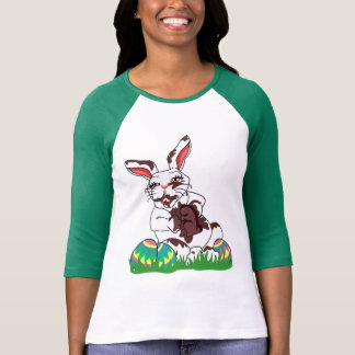 Easter Jersey Funny Easter Bunny Baseball Jersey T-Shirt