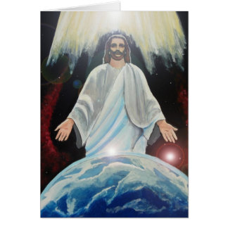 Easter Jesus Christ Light of the World Note Card