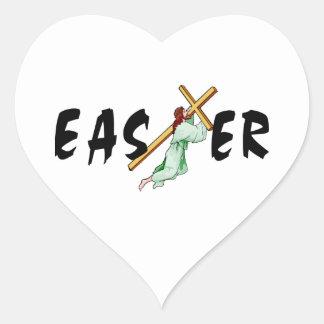 Easter Jesus Cross Sticker