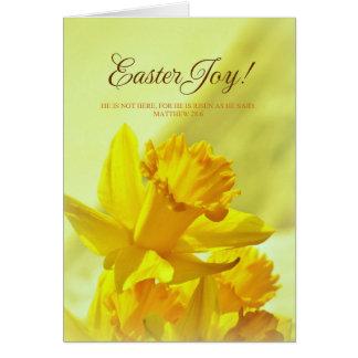 Easter Joy Christ Our Risen Savior Card
