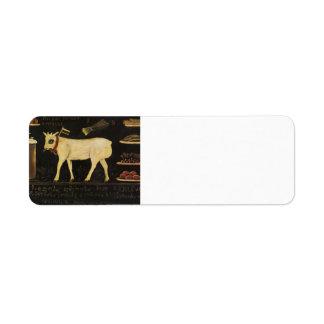 Easter Lamb by Niko Pirosmani Labels