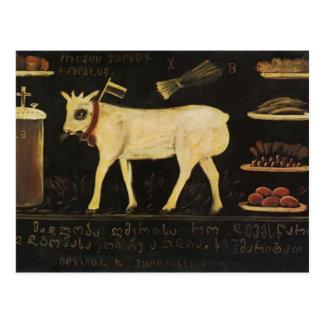 Easter Lamb by Niko Pirosmani Postcards