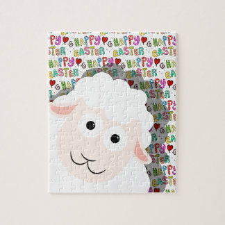 Easter lamb jigsaw puzzle