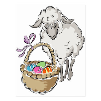 Easter Lamb Post Cards