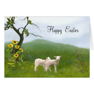 Easter Lambs Cards