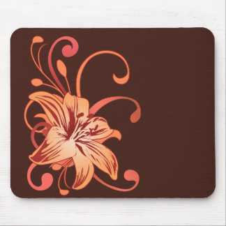 Easter Lily In Red Mouse Pad