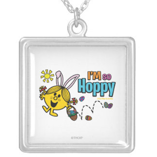 Easter Little Miss Sunshine Silver Plated Necklace