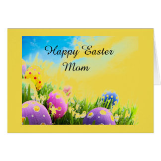 EASTER LOVE TO MY ***MOM*** CARD