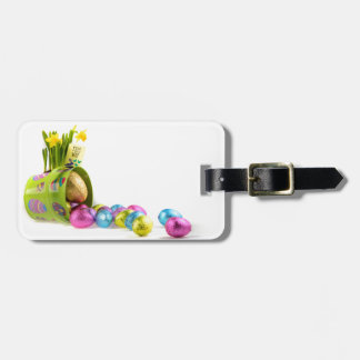 Easter Luggage Tag