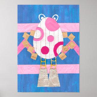 Easter Man Poster