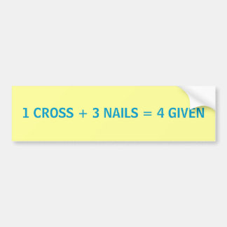 Easter Math - bumper sticker