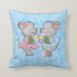 Easter Mice Pillow