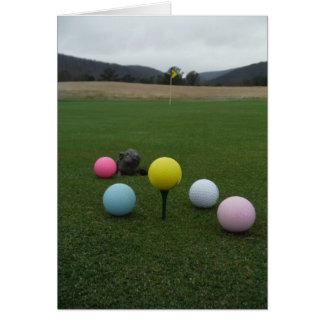 Easter mountain golf course card