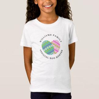 Easter Official Egg Hunter Add Family Name T-Shirt