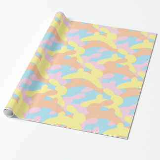 Easter or Baby Bunny Camo Wrapping Paper