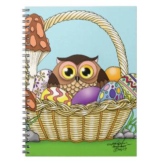 Easter Owl Notebooks