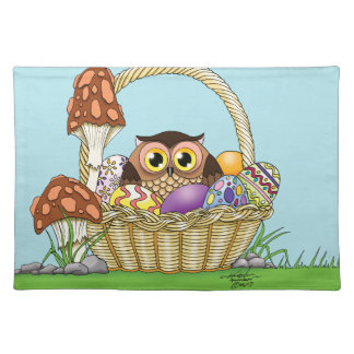 Easter Owl Placemat