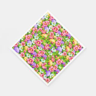 Easter Paper Napkins with Matching Products