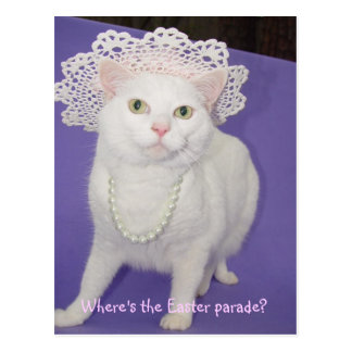 Easter Parade Postcard