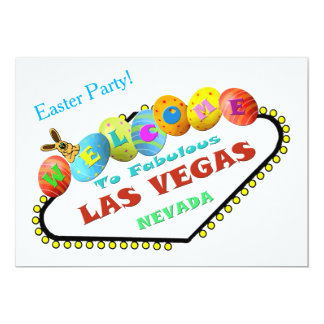 Easter Party in Las Vegas Invitation