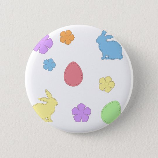 Easter Patches 2 Inch Round Button