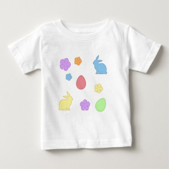 Easter Patches Baby T-Shirt