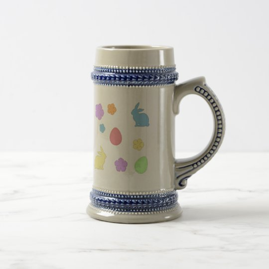 Easter Patches Beer Stein