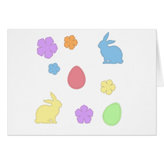 Easter Patches Card
