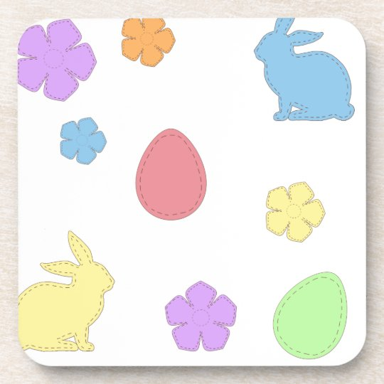 Easter Patches Coaster
