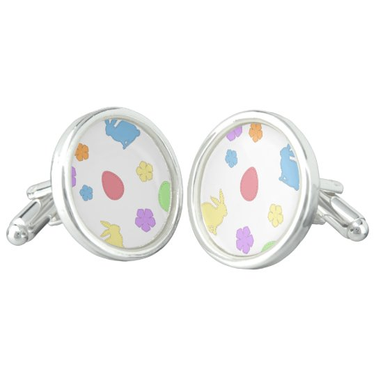 Easter Patches Cufflinks