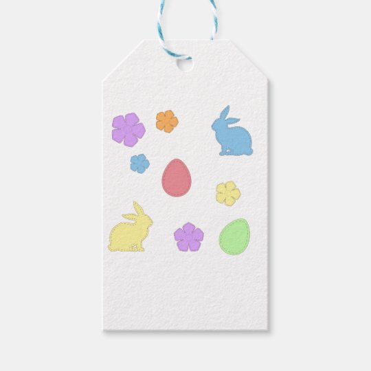 Easter Patches Gift Tags