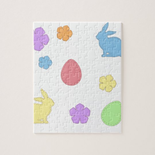 Easter Patches Jigsaw Puzzle
