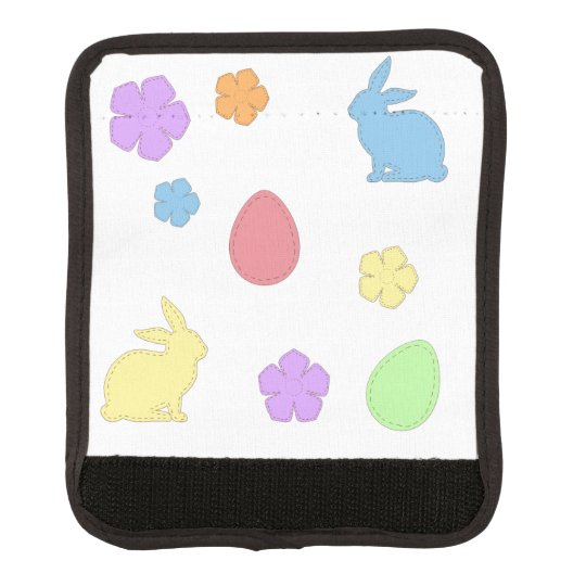 Easter Patches Luggage Handle Wrap