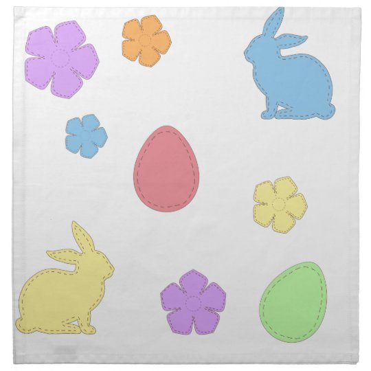 Easter Patches Napkin