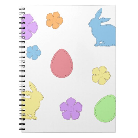 Easter Patches Notebook