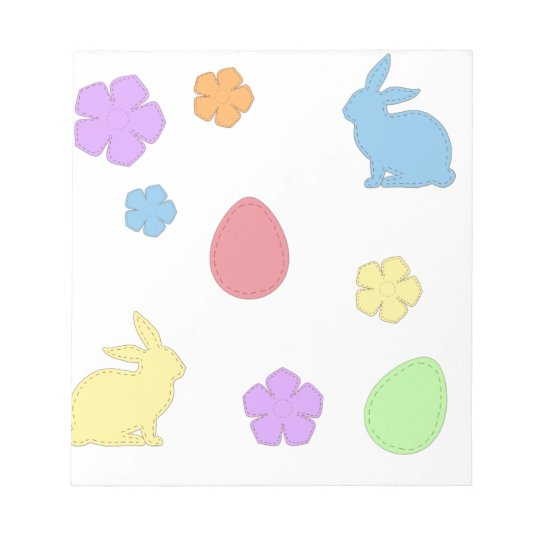 Easter Patches Notepad
