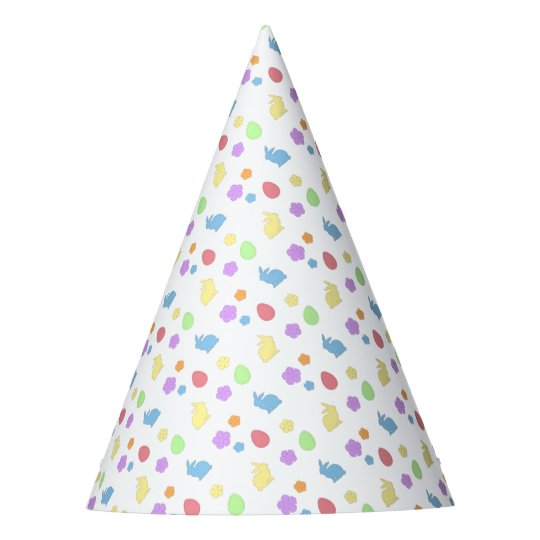 Easter Patches Party Hat