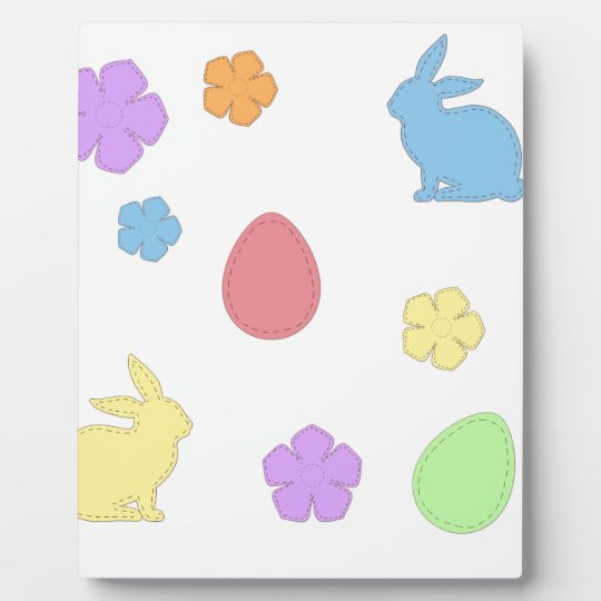 Easter Patches Plaque