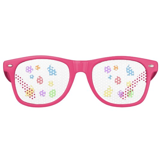 Easter Patches Retro Sunglasses