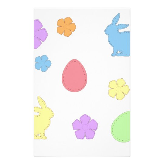 Easter Patches Stationery