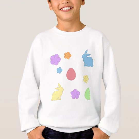 Easter Patches Sweatshirt