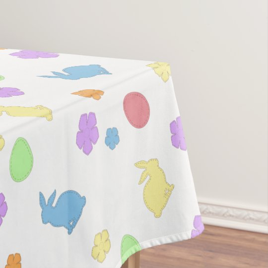 Easter Patches Tablecloth