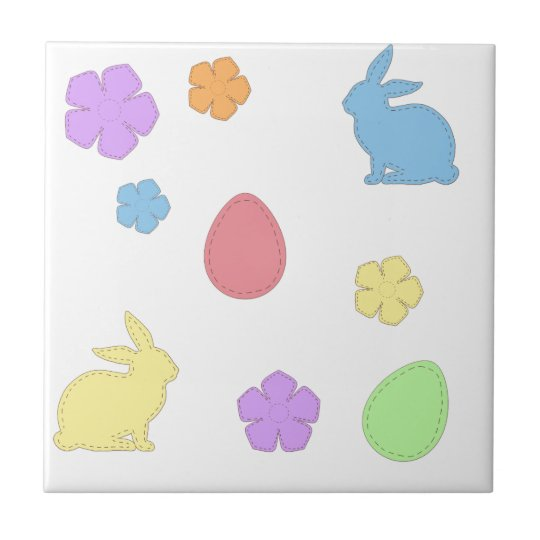 Easter Patches Tile