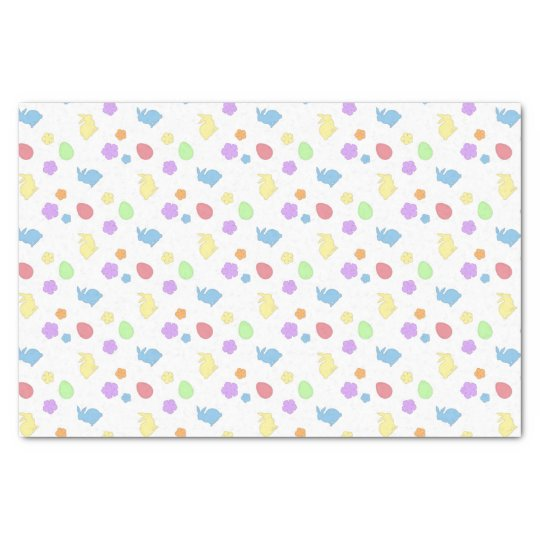 Easter Patches Tissue Paper