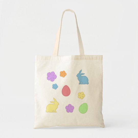 Easter Patches Tote Bag