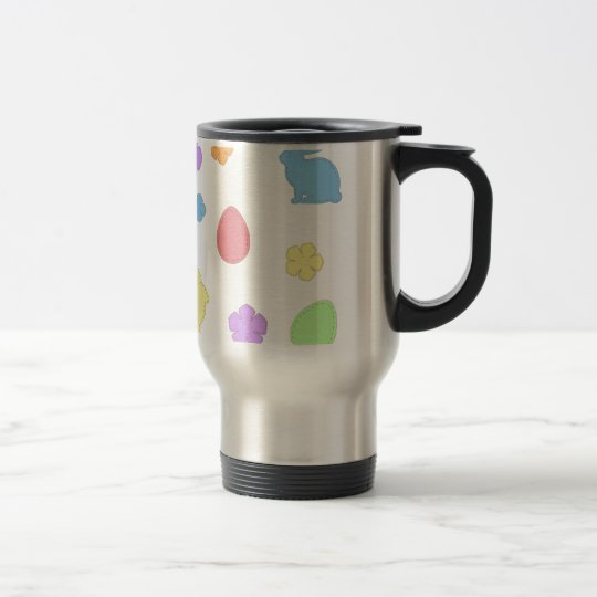 Easter Patches Travel Mug