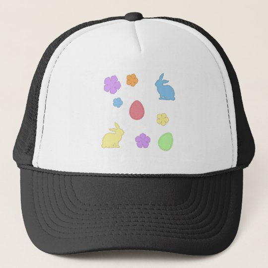 Easter Patches Trucker Hat