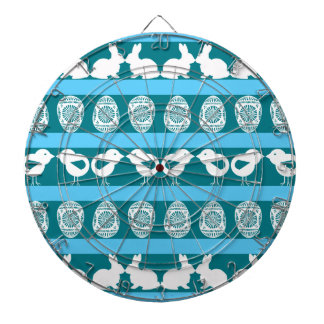 Easter pattern. Any background color Dartboard