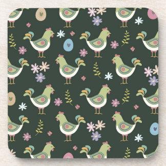 Easter Pattern Coaster